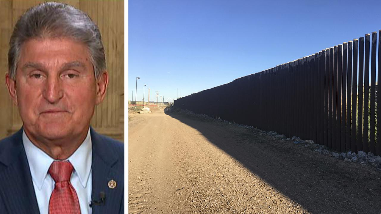 Manchin: No reason to shut down government over wall funding