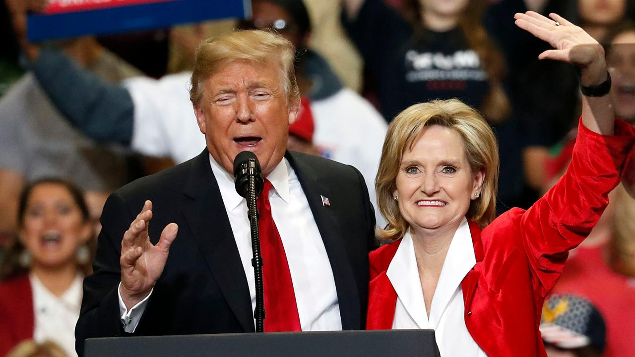 GOP rallies behind Cindy Hyde-Smith in Mississippi runoff