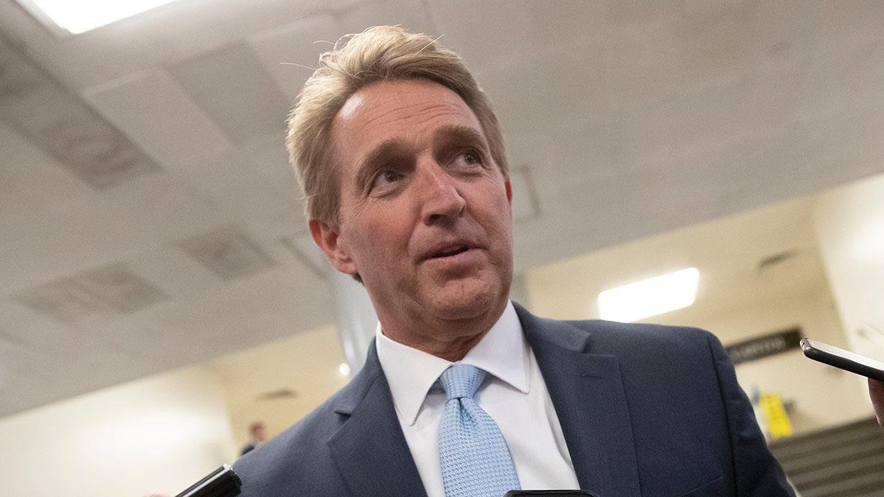 Jeff Flake joins over two-dozen former GOP members of Congress to launch 'Republicans for Biden'