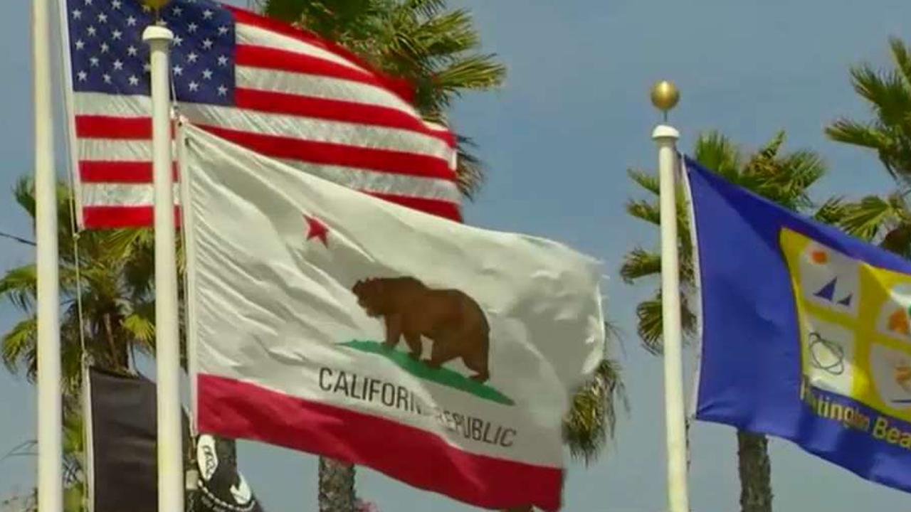 Republicans point fingers after blue wave in California