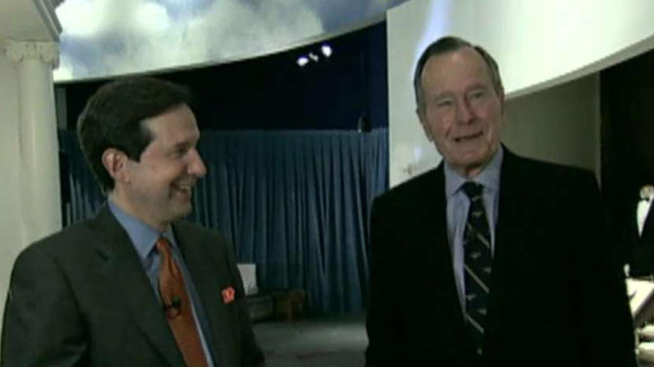 A look at George H.W. Bush's talks with 'Fox News Sunday's' Chris Wallace.
