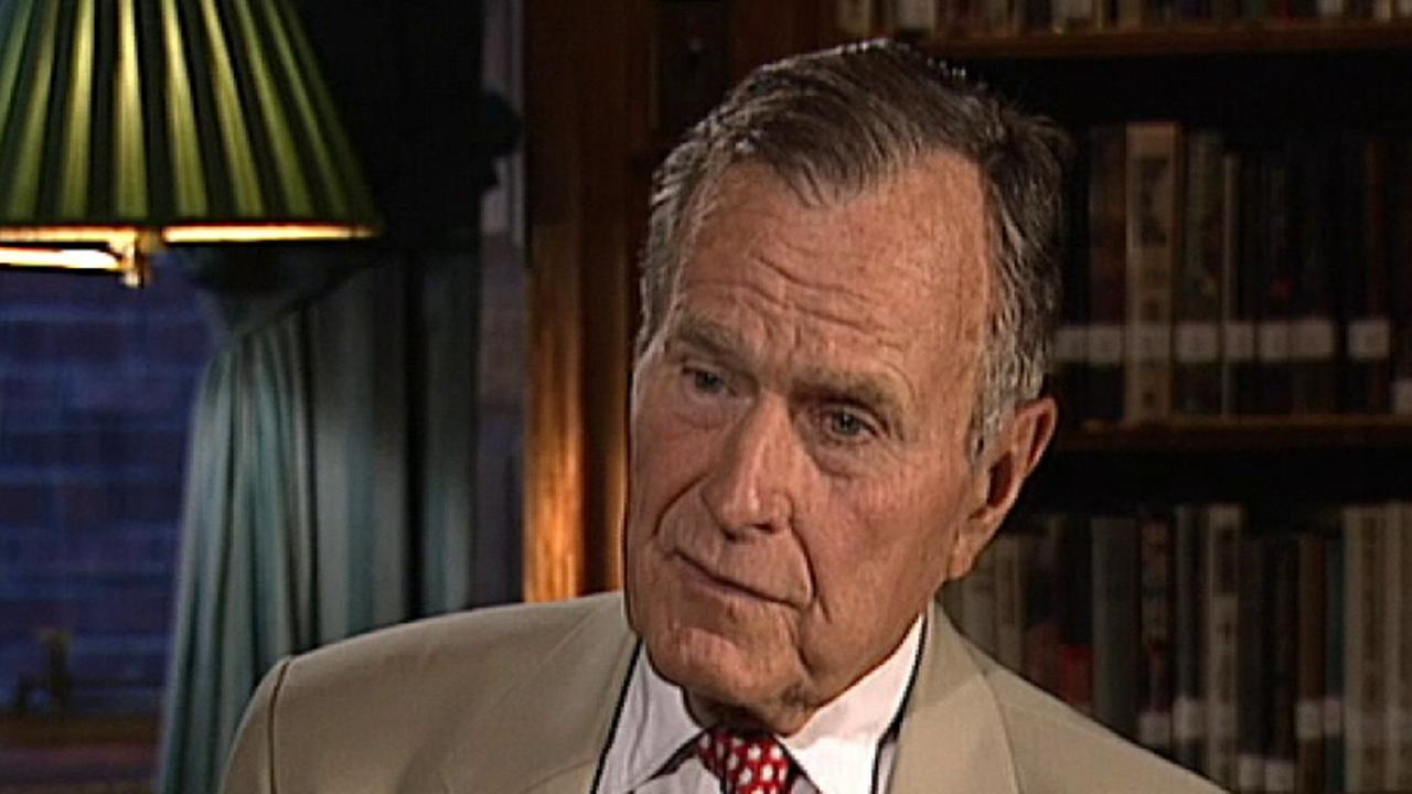 Flashback: Sean Hannity interviews George H.W. Bush