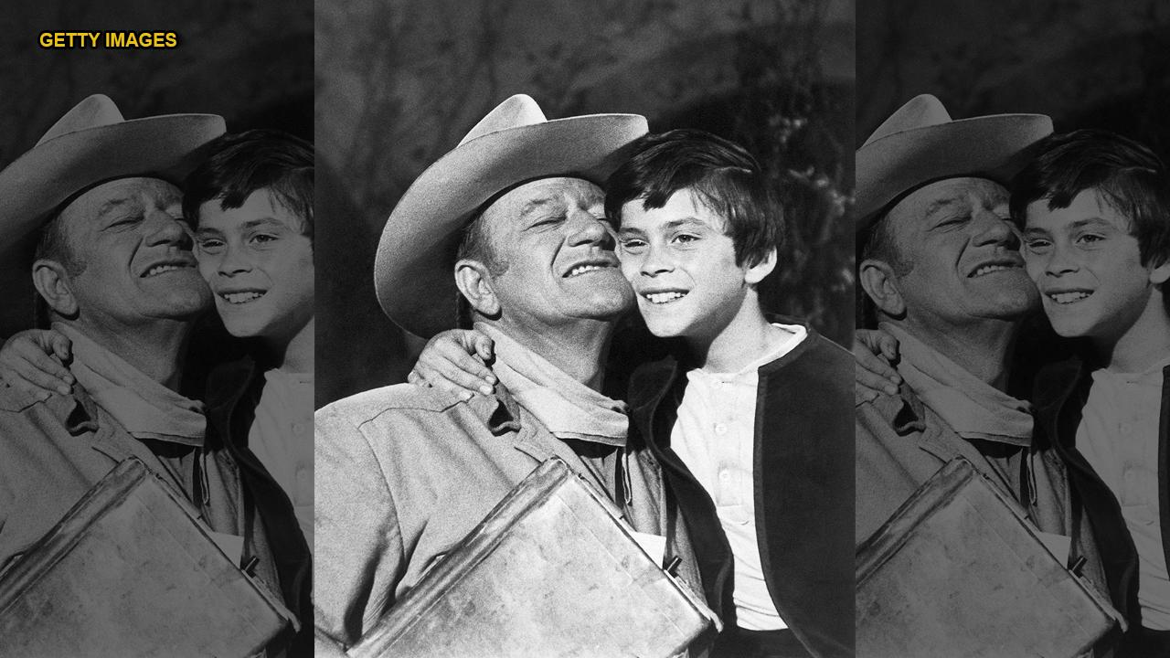 John Wayne's son recalls growing up with 'The Duke'