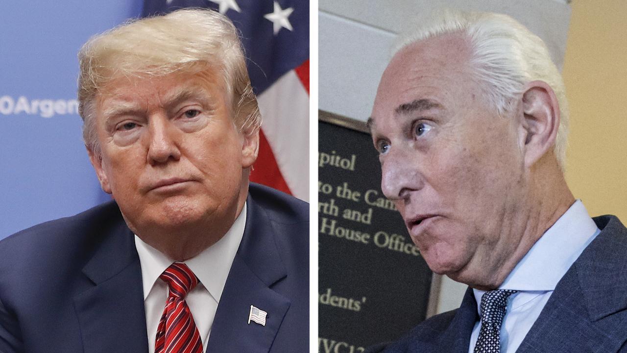 Trump praises Roger Stone, accused of witness tampering
