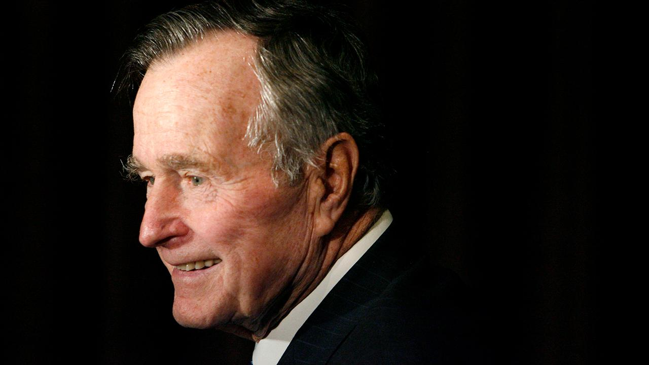 President George H.W. Bush funeral service