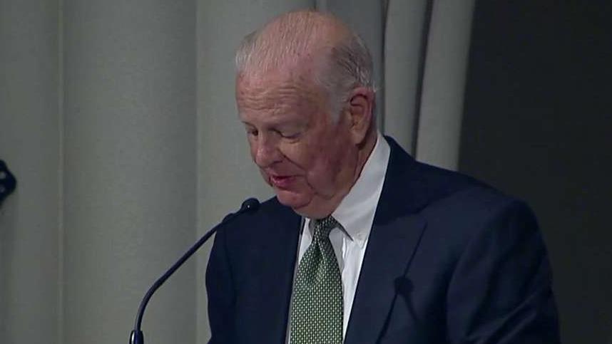 Baker: Bush was 'charter member' of 'Greatest Generation'