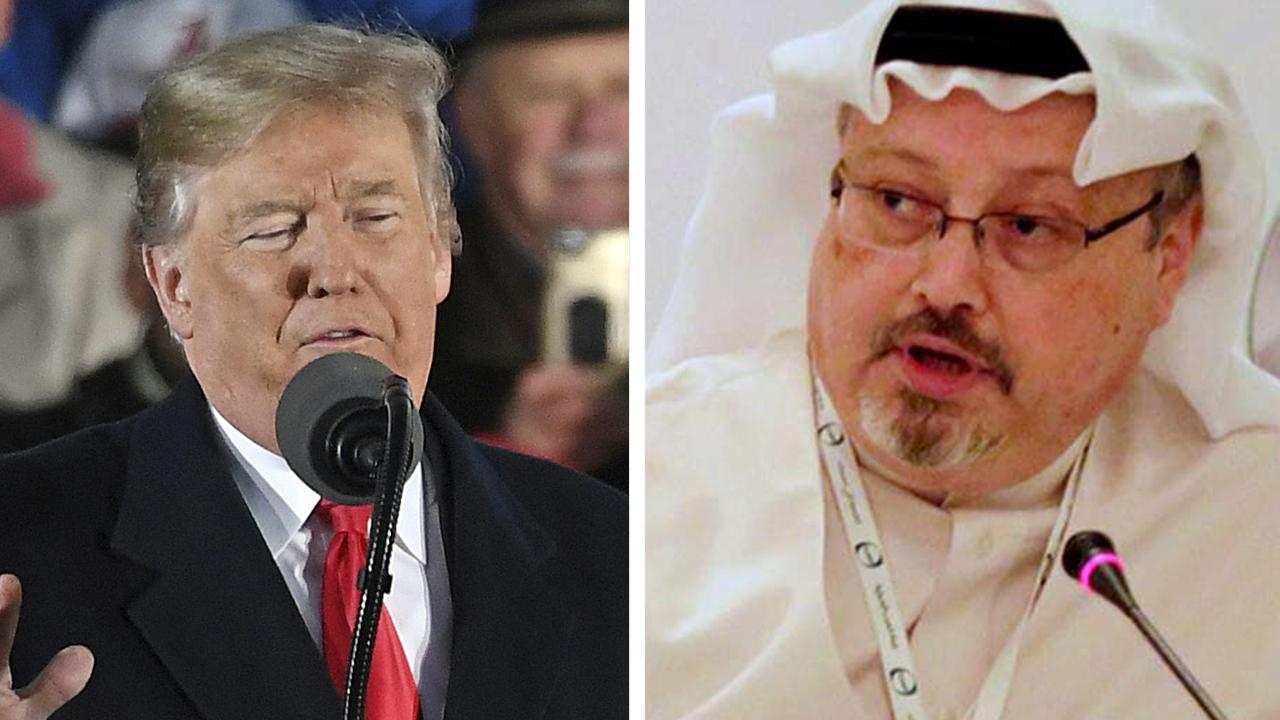Senators pressure Trump to take action on Khashoggi's murder
