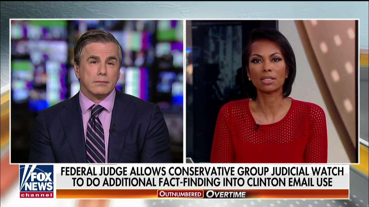 Fitton Says Court Allows Him to Continue Clinton Probe