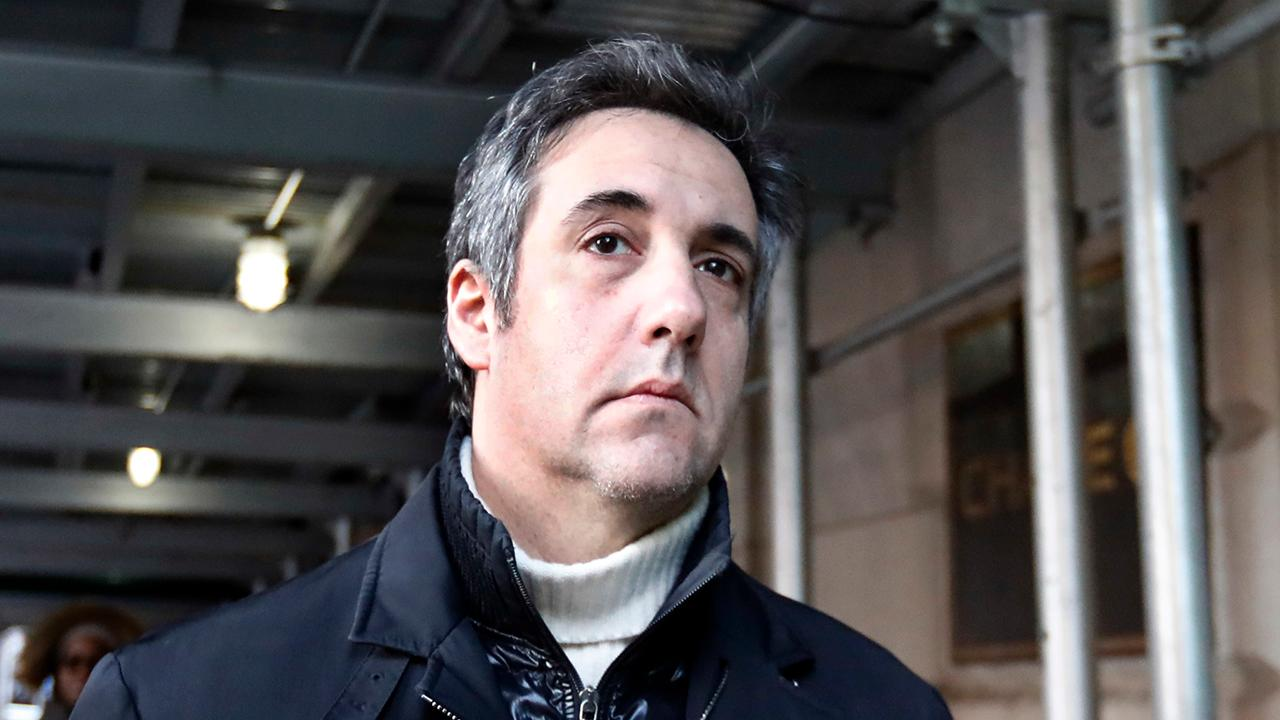 Government requests Cohen receive 'substantial' jail time
