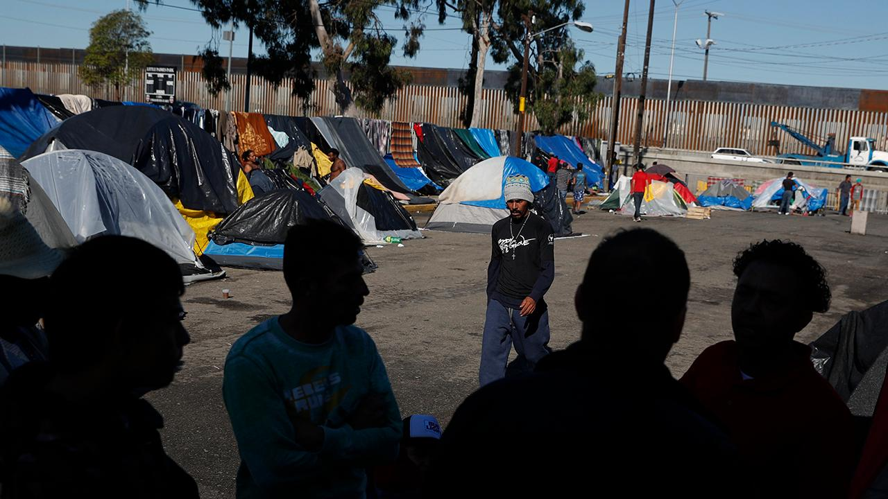 Donations helping conditions at Tijuana migrant shelter