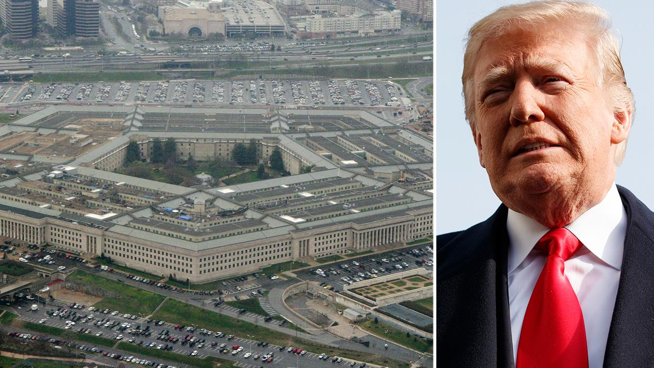 Trump plans to boost Pentagon budget in 2019