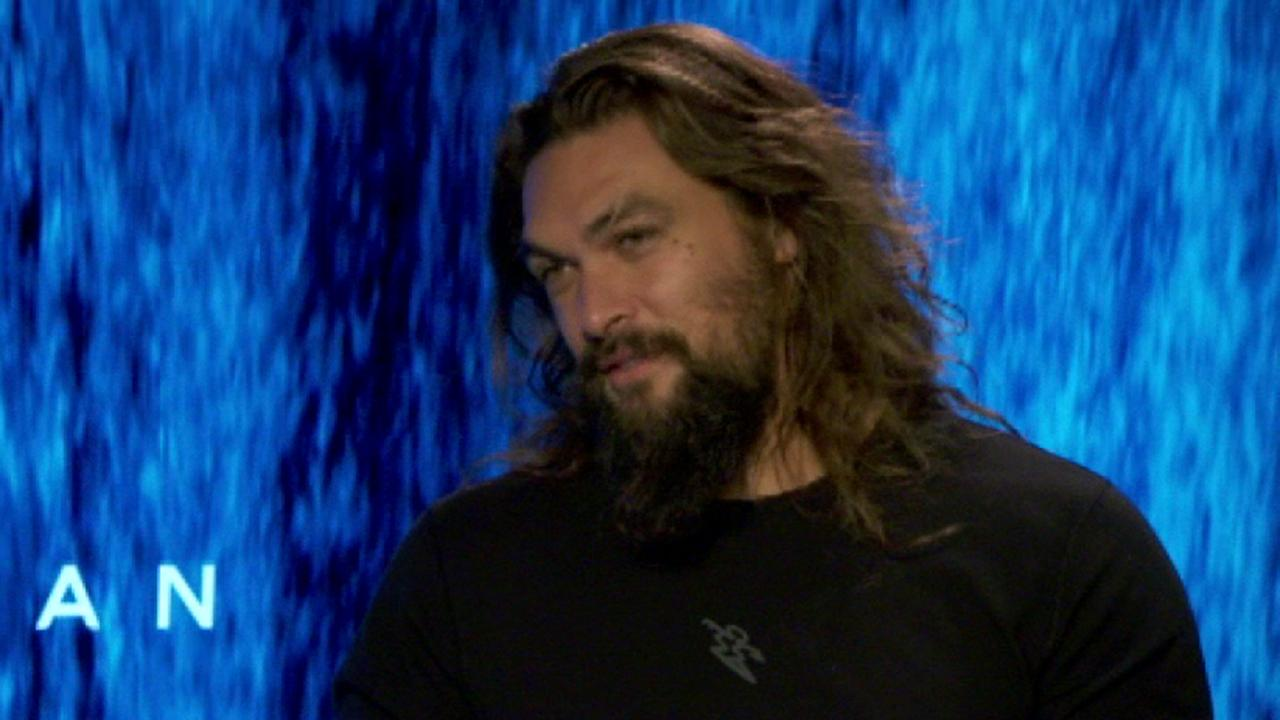 Jason Momoa bracing for 'Aquaman' fame