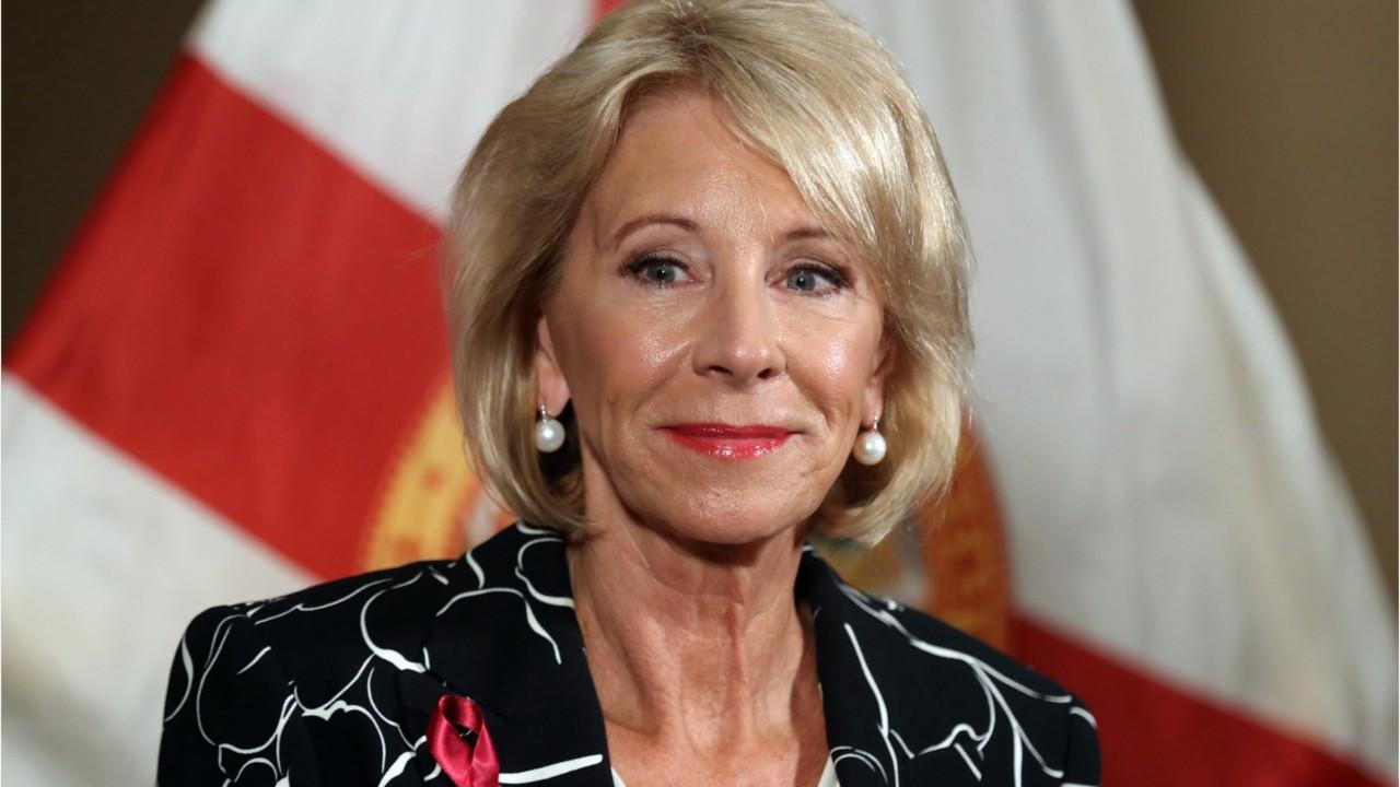 Betsy DeVos cancels $150 million of student loan debt
