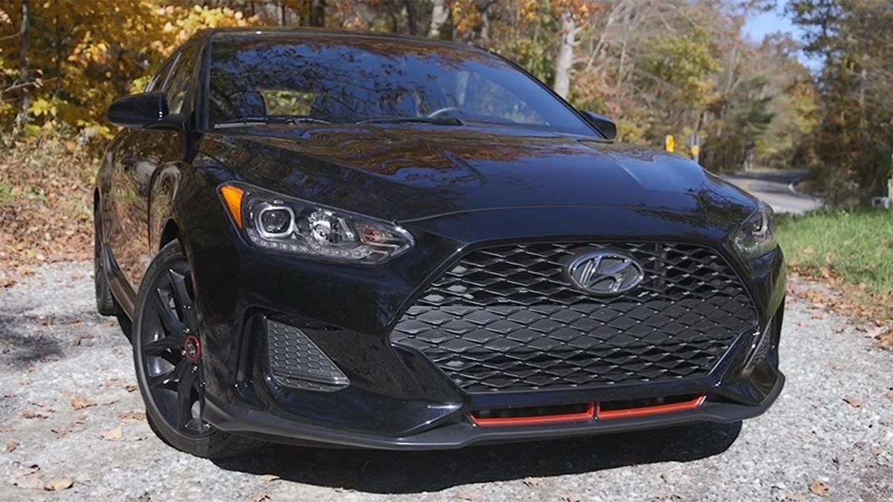 The Hyundai Veloster Turbo R-Spec is an odd sports car