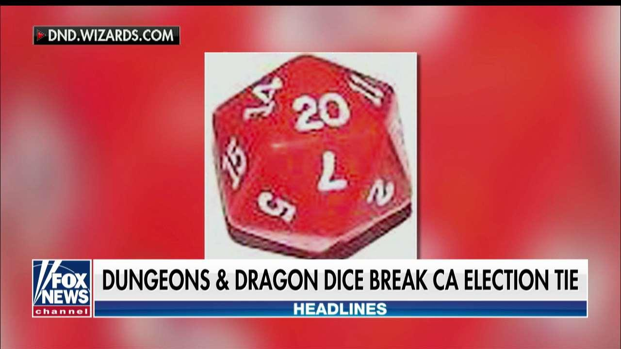 'Dungeons & Dragons' Dice Used to Break Election Tie in California