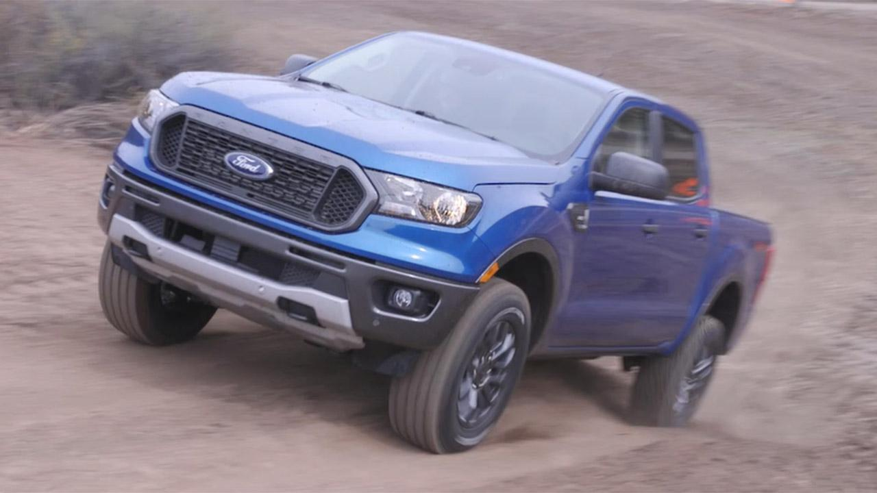 Suspected 2021 Ford Ranger Spotted On The Street Fox News