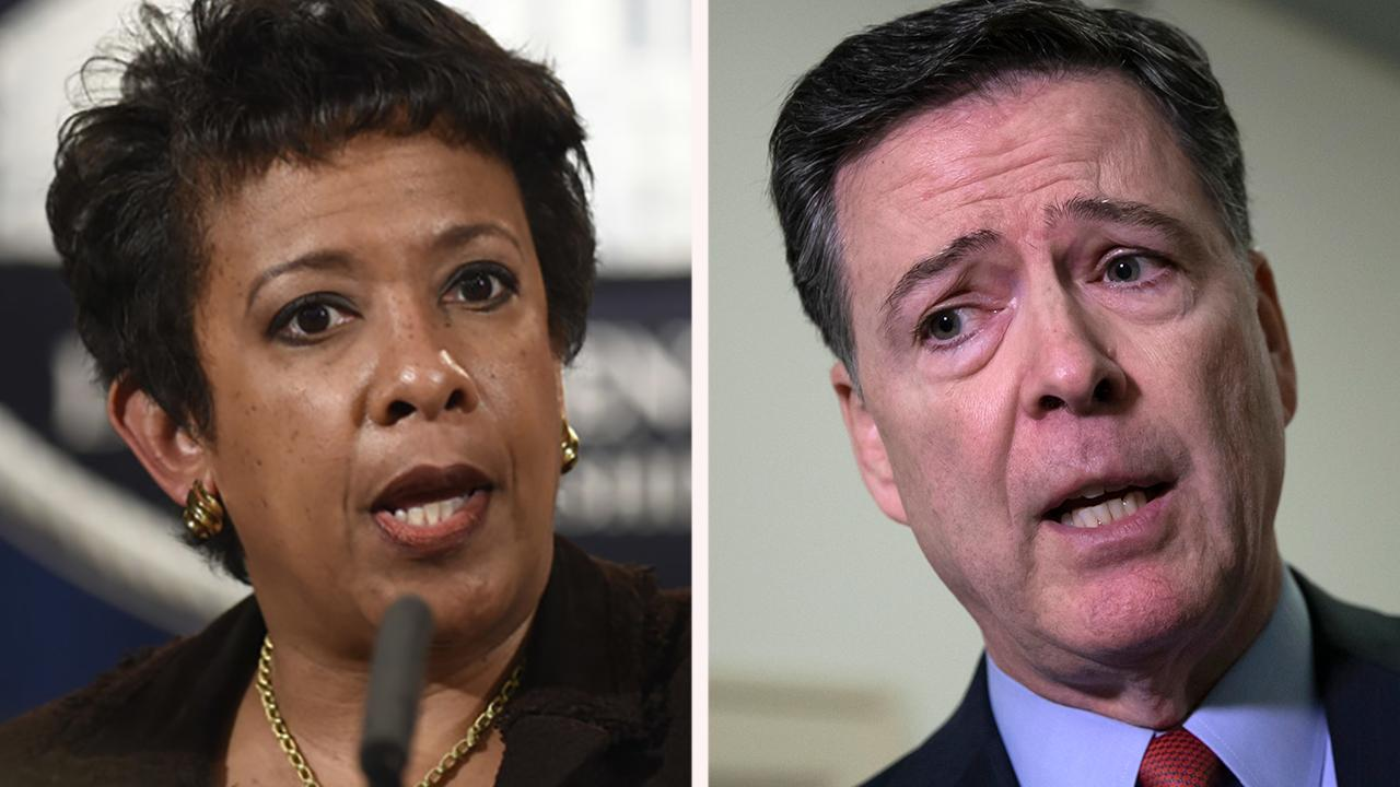 Loretta Lynch accuses Comey of misrepresenting key Clinton probe conversation, was 'quite surprised' by his testimony
