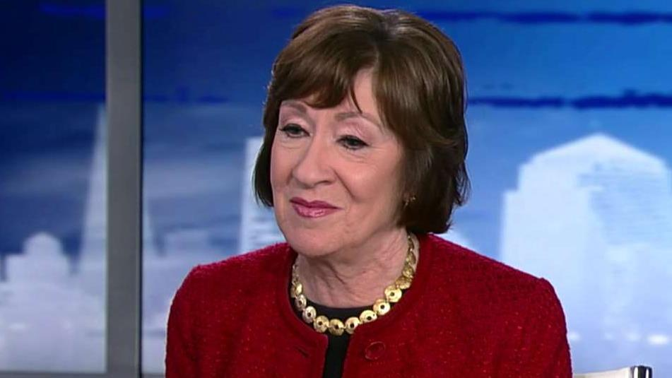 Susan Collins endorsed by blue-state Republican governors in major Maine Senate race