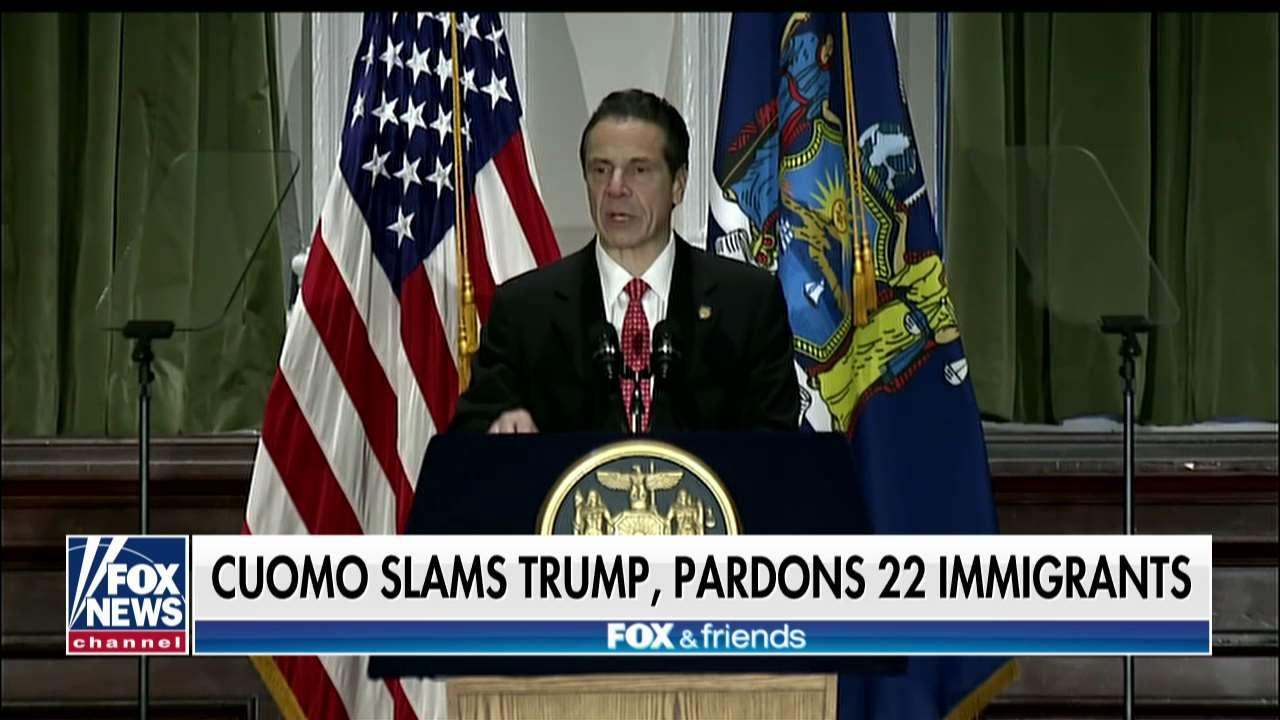 NY Gov. Cuomo Pardons Immigrants at Risk of Deportation, Takes Swipe at Trump