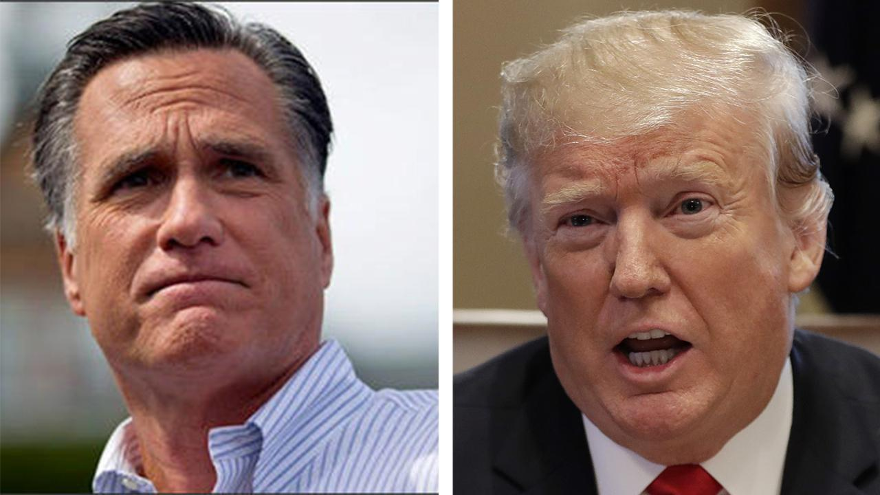 Trump supporters say Romney's latest anti-Trump turn is all about media attention
