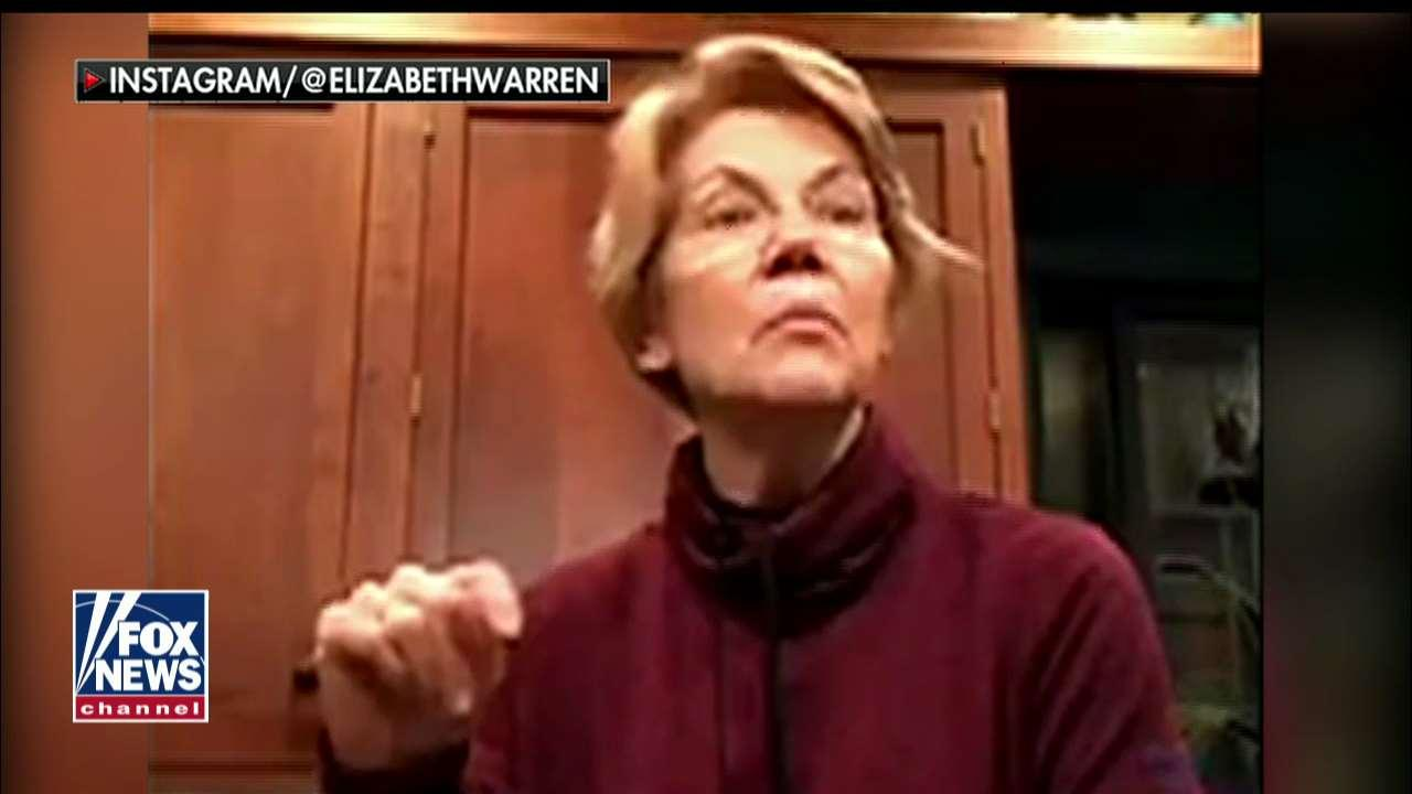 'Inauthentic in Everything She Does': 'The Five' on Warren's Beer-Drinking Livestream, 2020 Chances