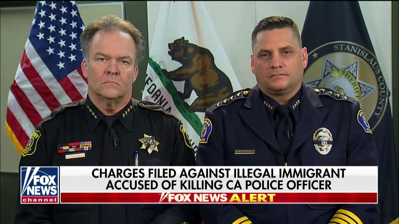 'Enforce the Law & Lives Will Be Saved': Hannity on Sanctuary Law, CA Officer's Death