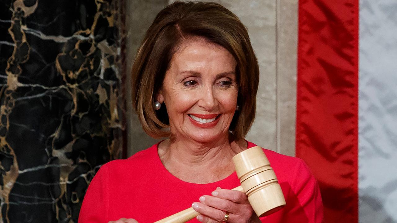 Pelosi retakes House gavel despite Democrat defections