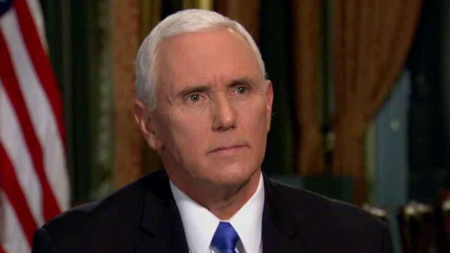 Pence: There can be no deal without a wall