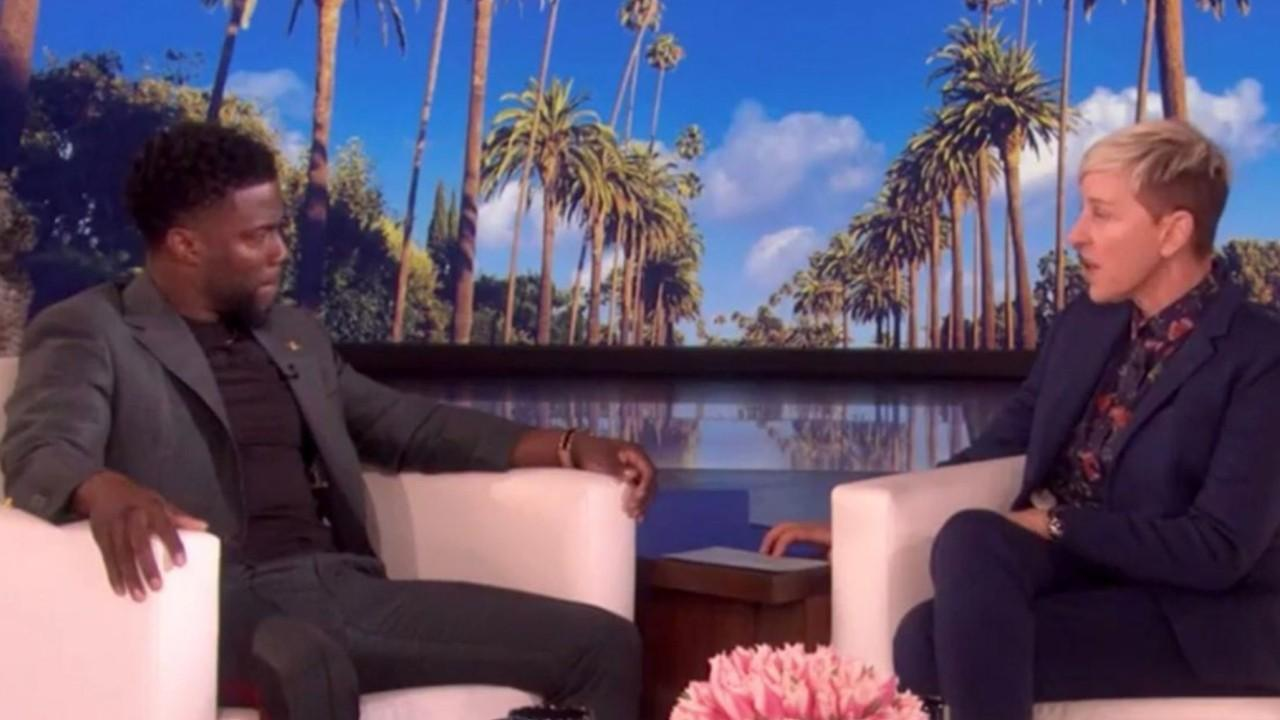 Ellen DeGeneres under fire for defending Kevin Hart for his 'anti-gay' tweets