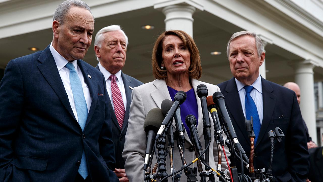 Democratic leaders refuse to consider border wall deal while government remains shut down