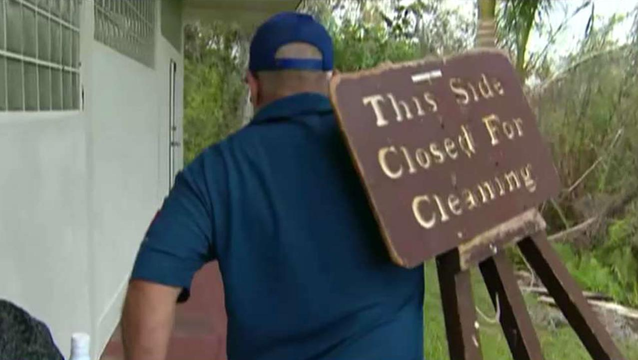 Volunteers team up to help clean national parks as government shutdown drags on