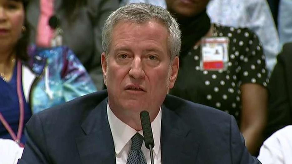 photo image De Blasio says moderates never learned 'lessons of 2016,' urges bold liberal agenda