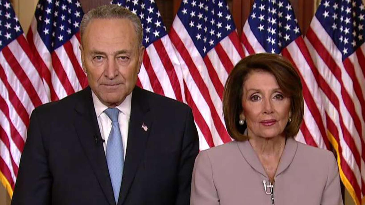 Pelosi, Schumer: Trump is holding government workers hostage over border wall