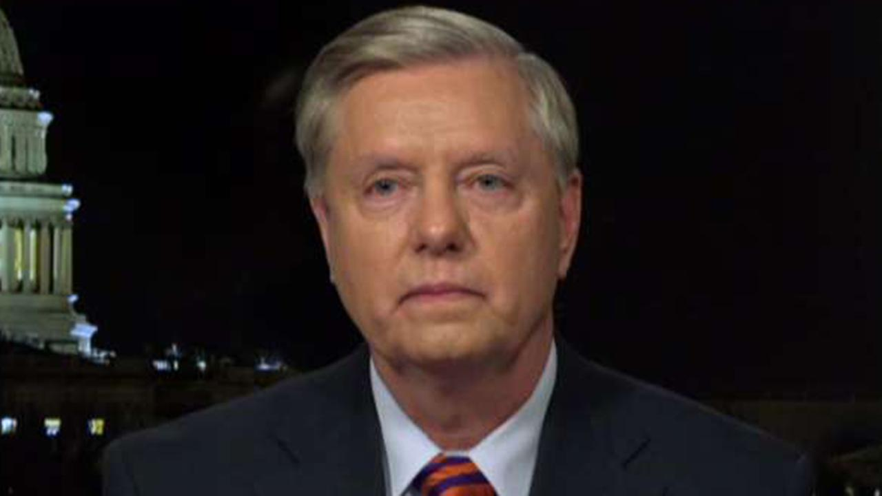 Graham: Secure the border then end the shutdown