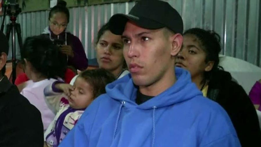 Migrant caravan members disappointed by President Trump's tone during his national address on securing the border