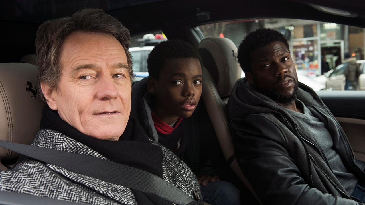 'The Upside' stars Bryan Cranston and Kevin Hart talk life coaches, career changes and new movie