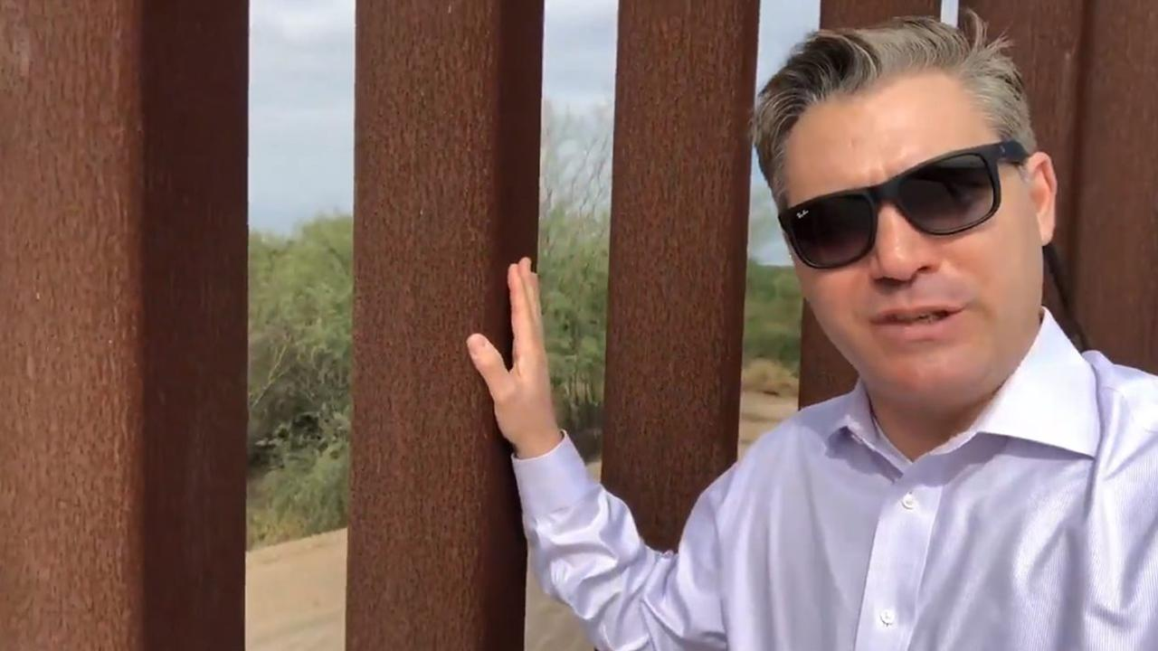 CNN's Jim Acosta takes heat after showing border fence just might be working