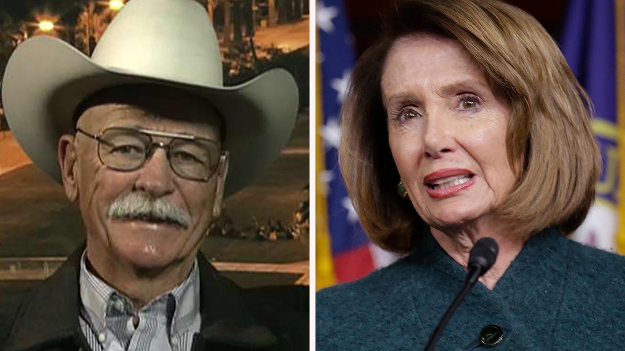 Border rancher reacts to Nancy Pelosi calling border wall 'immoral'