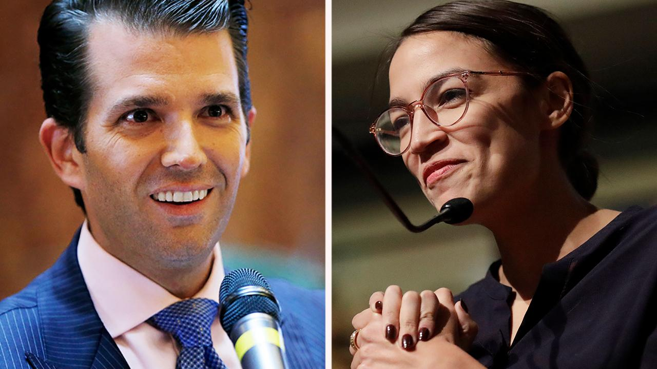 Ocasio-Cortez apologizes to Trump Jr.