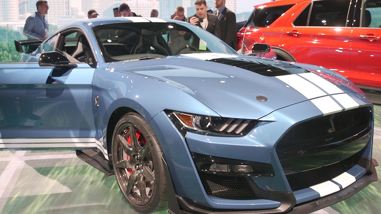 Most Powerful American Cars-2020 Ford Mustang SHelby GT500
