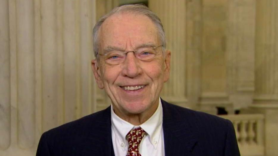 Grassley: Barr's recent statements on Mueller should have already satisfied Democrats