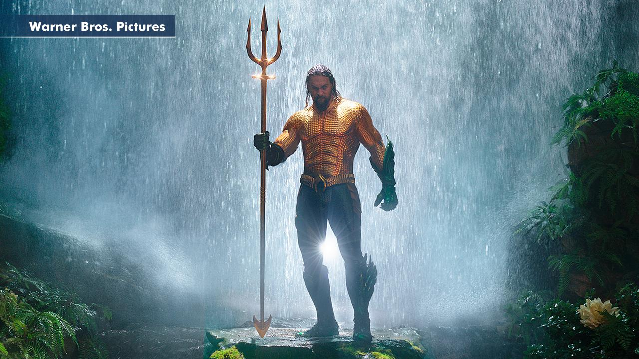 'Aquaman' hits a milestone; The Who hit the road; Celine pulls R. Kelly duet