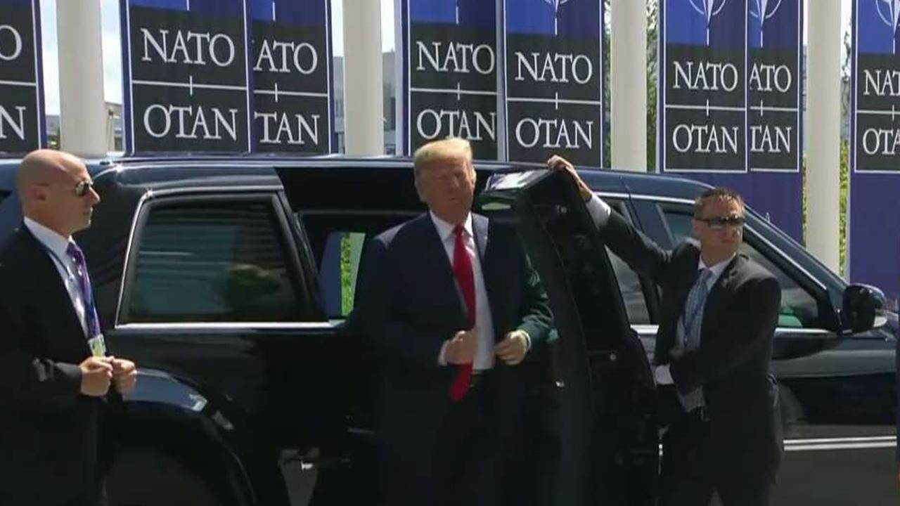President Trump's position on NATO sparks fresh concerns among US officials and European allies