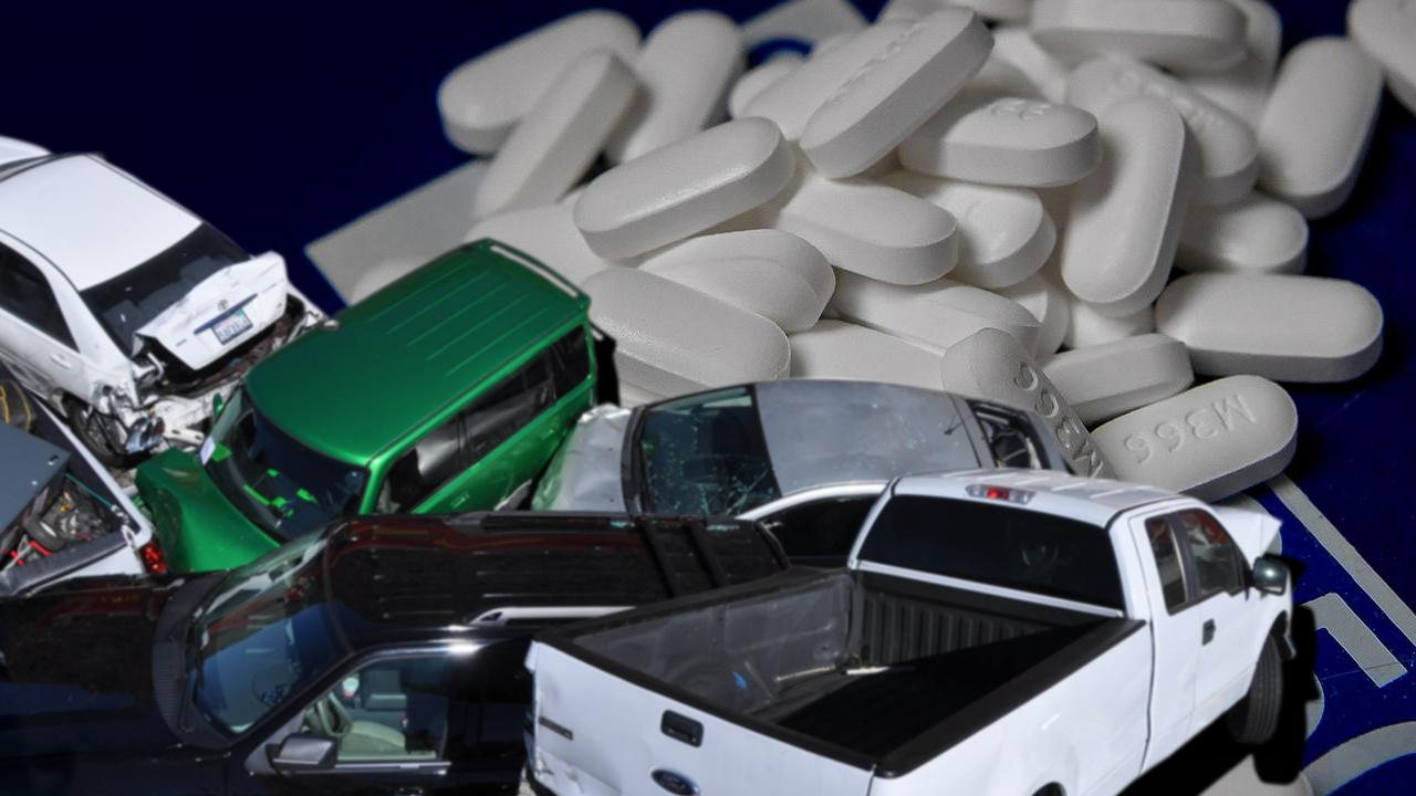 Americans are now more likely to die of an opioid overdose than in car crash, a new report warns