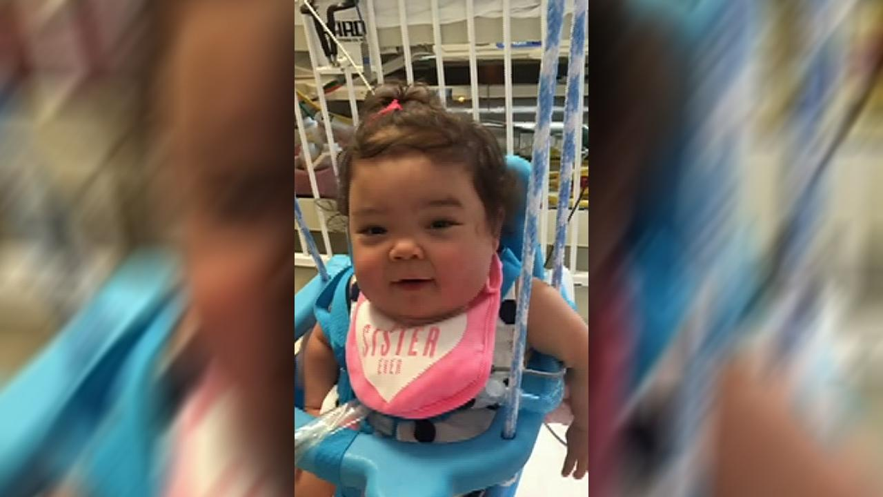 Baby born 3 years ago has gone home from hospital at last