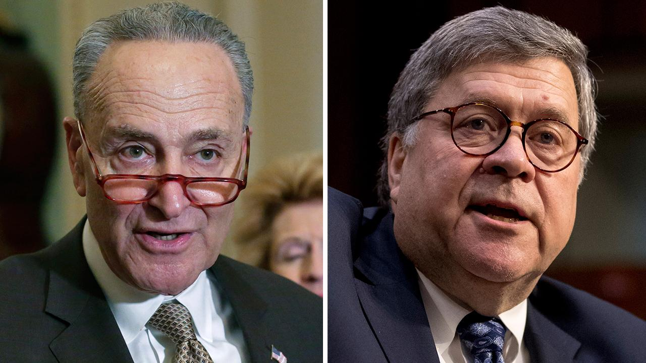 Chuck Schumer remains opposed to nomination of William Barr for attorney general