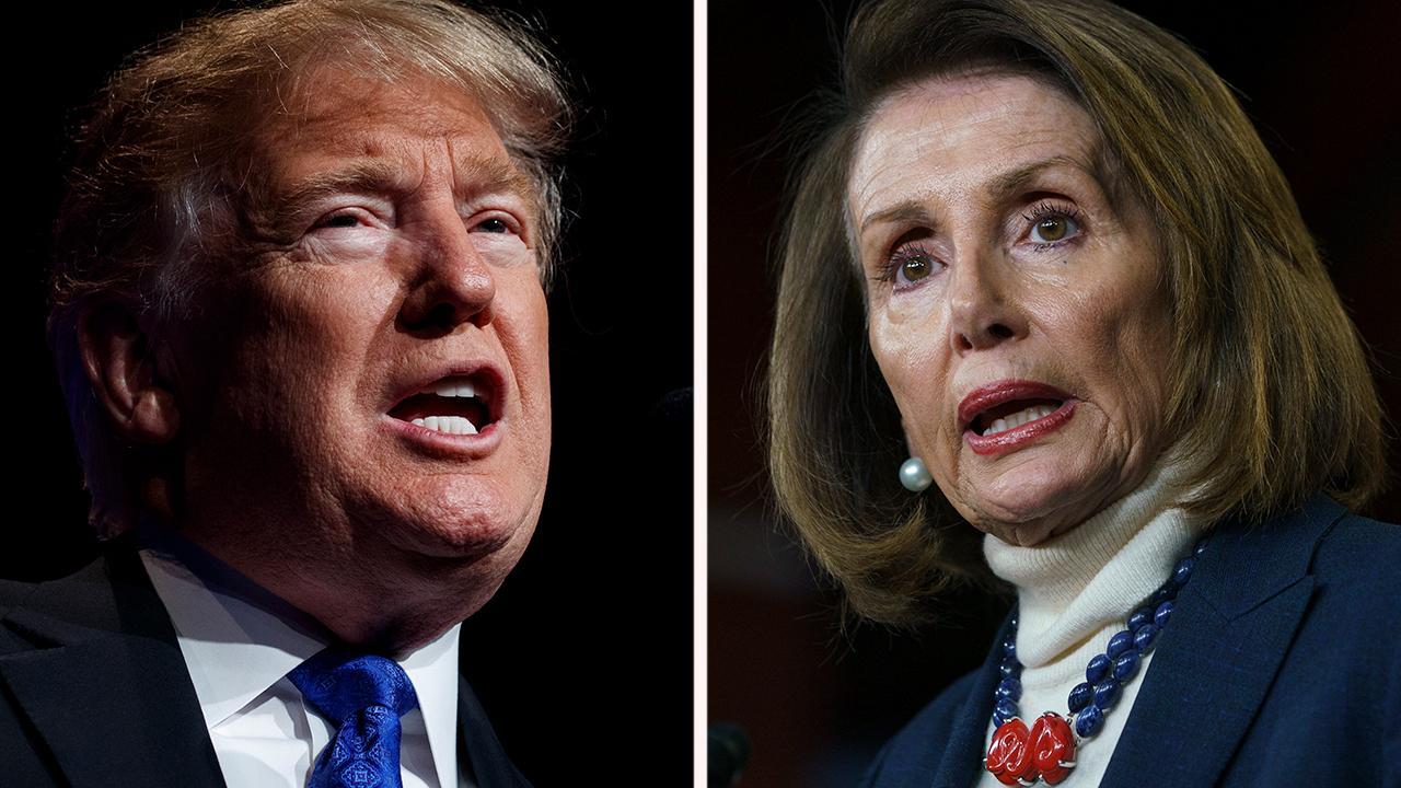 Trump grounds Nancy Pelosi's trip to Afghanistan