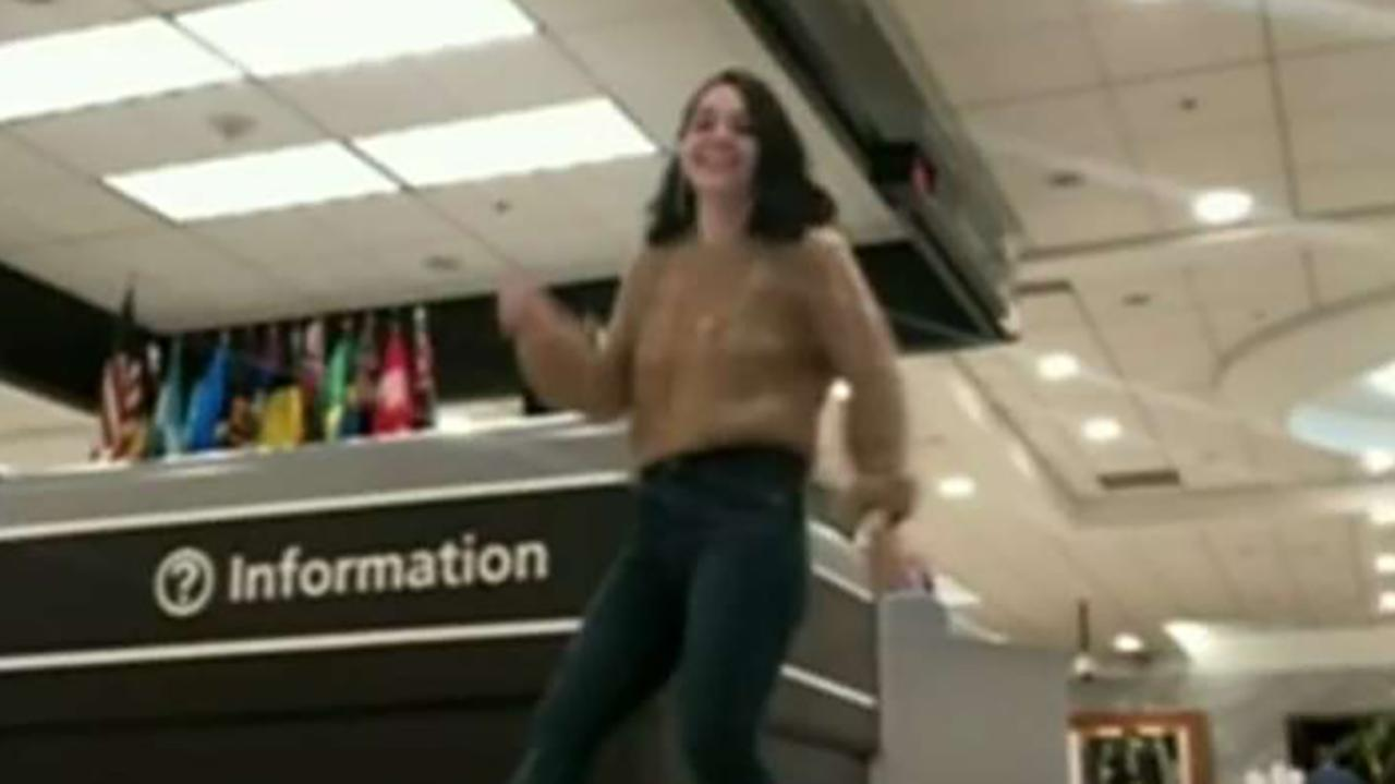 College student delayed at Atlanta airport goes viral with dance video to Hall and Oates hit