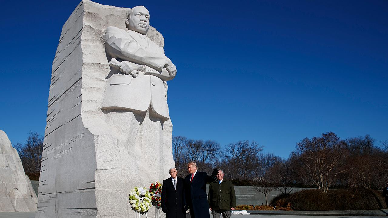 Democrats use legacy of Martin Luther King Jr. to attack Trump