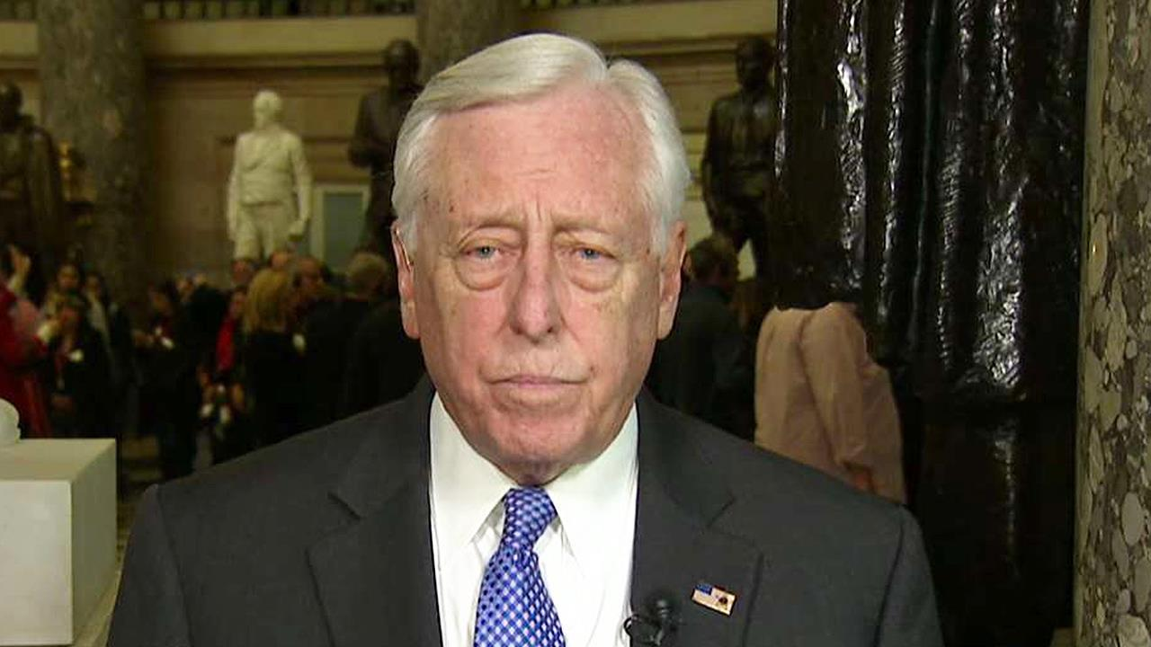 Rep. Hoyer on shutdown: It is a step forward to have votes on funding